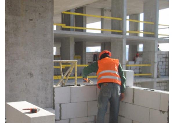 Технологія будівництва з газобетонних блоків